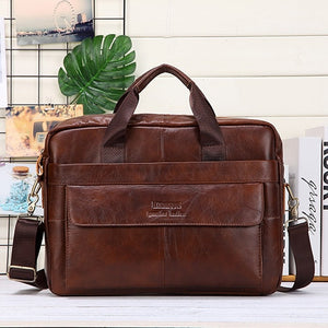 Men Genuine Leather Handbags