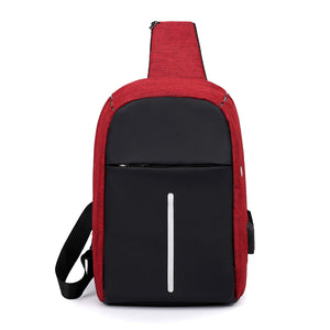 Fashion Simple Men's Single-shoulder Bag