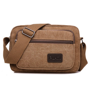 Casual Shoulder Canvas Men's Bag