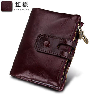Men's Casual Genuine Leather Wallet