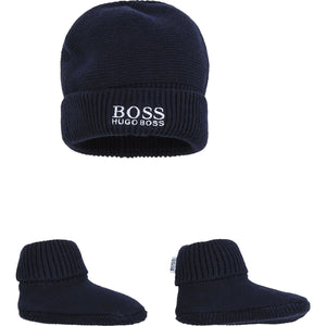 Hugo Boss Baby Boy Hat Set