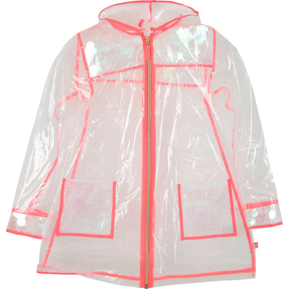 Billiblush Clear Raincoat