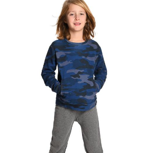 Appaman Kid Boy Camo Sweatshirt