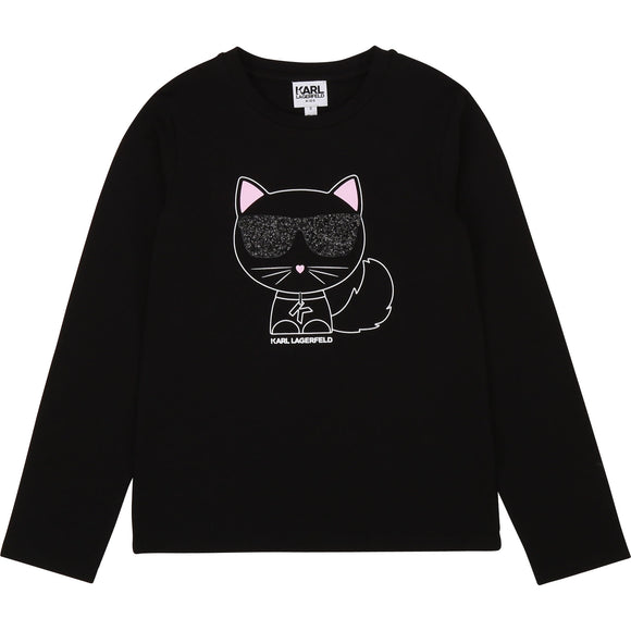 Karl Lagerfeld Girl T-Shirt