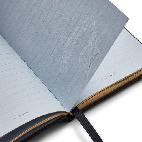 Smythson - The Devil In The Detail Mini Notebook - Black - Notebooks - Boboli Vancouver Canada