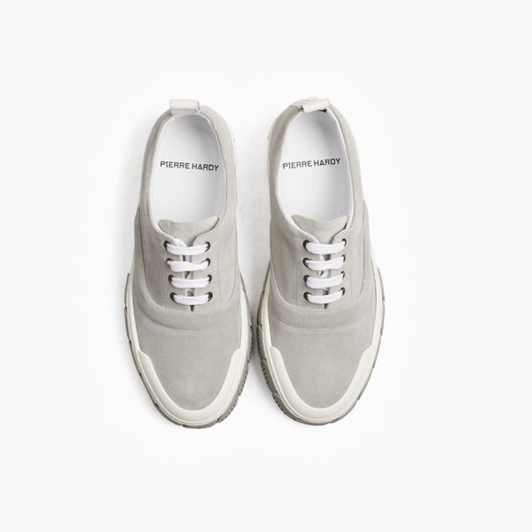 Ollie Suede Sneaker - Grey/White