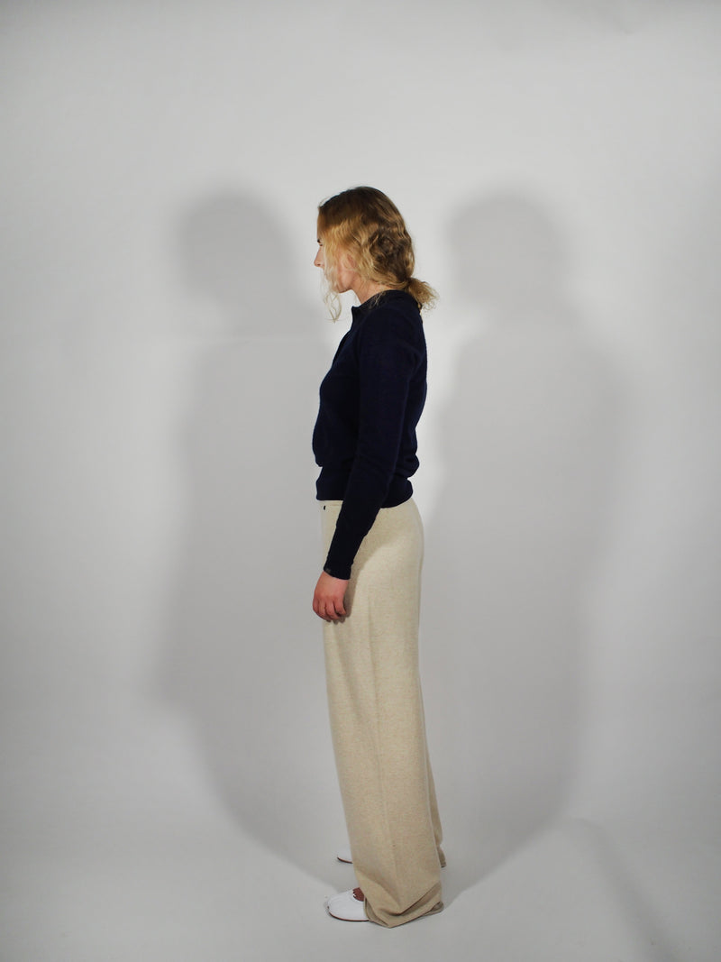 Cashmere Pull On Trousers