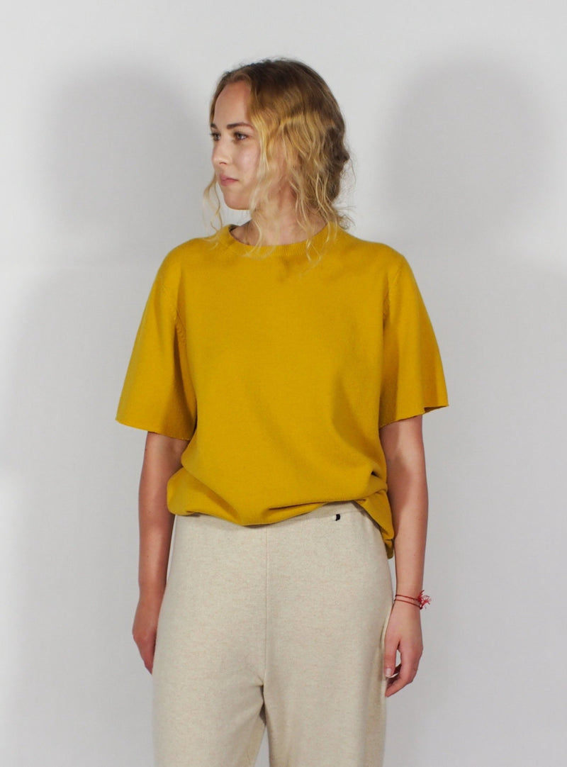 Cashmere Short Sleeve Tee