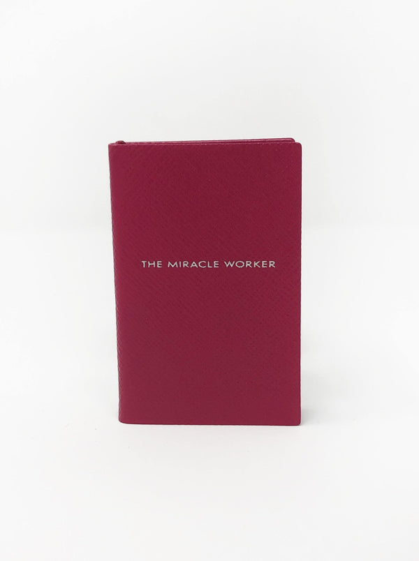 The Miracle Worker Mini Notebook - Fuchsia