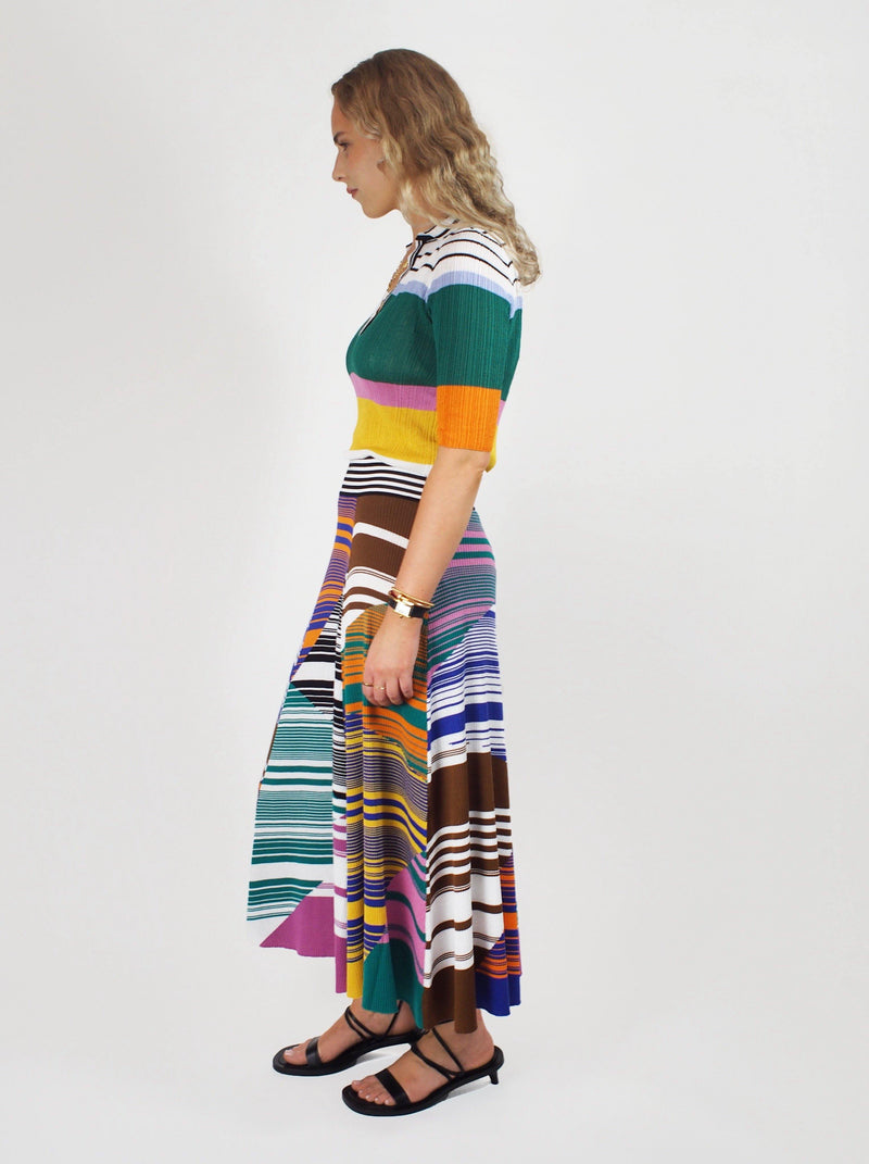 Missoni - Elastic Waist Skirt - Colour Block - Skirts - Boboli Vancouver Canada
