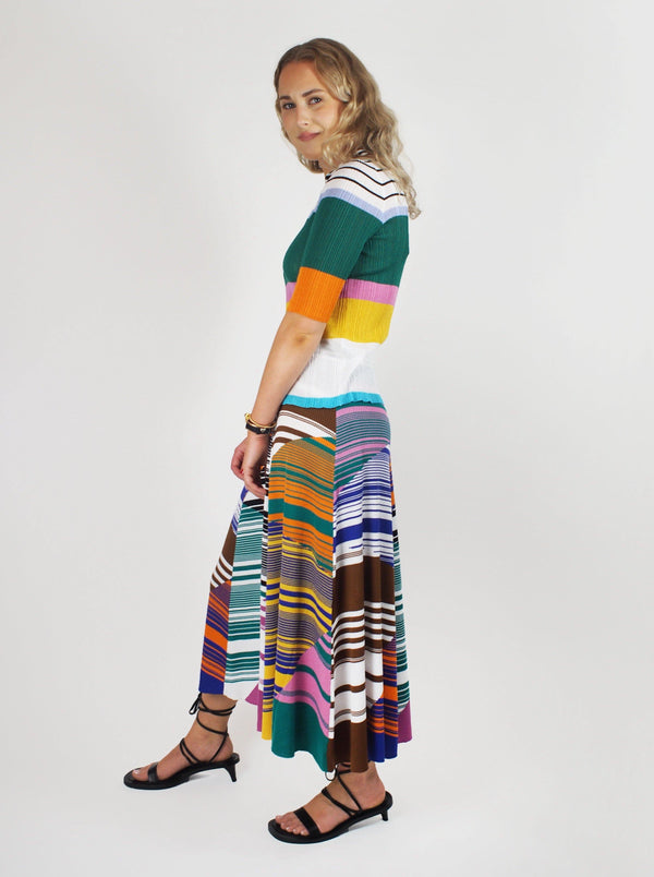 Missoni - Short Sleeve Polo Neck - Multicolour - Blouses - Boboli Vancouver Canada