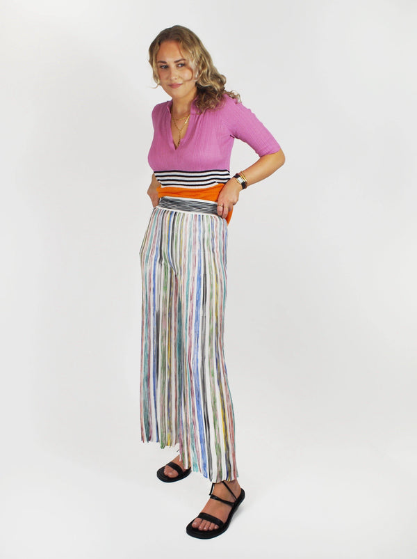Missoni - Trousers - Dark Multi - Pants - Boboli Vancouver Canada