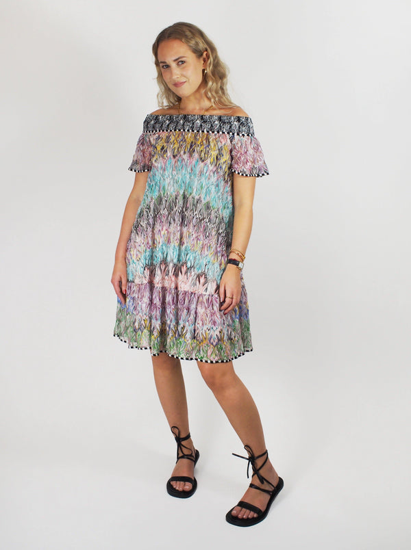 Missoni - Off-Shoulder Dress - Multicolour - Dresses - Boboli Vancouver Canada