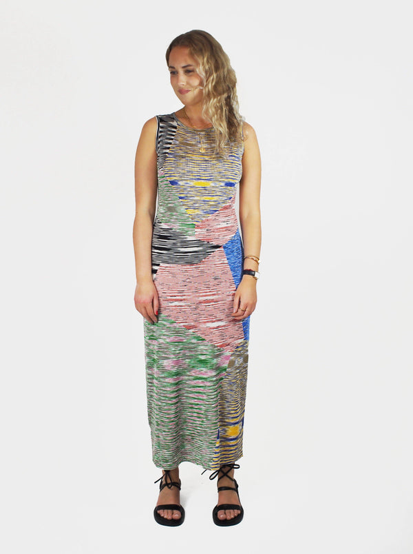 Missoni - Sleeveless Dress - Space Dye Multi - Dresses - Boboli Vancouver Canada