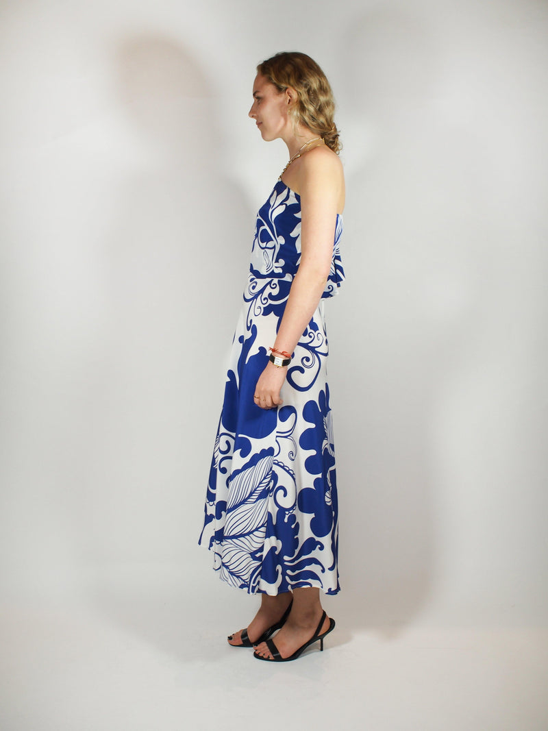 Cassandra Dress - Blue