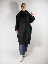 Detachable Hood / Shawl Caban Coat