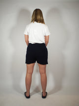 Cashmere Shorts - Navy Blue