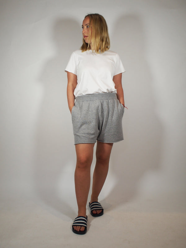 Cashmere Shorts - Grey