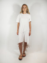 Asymmetric T-Shirt Dress
