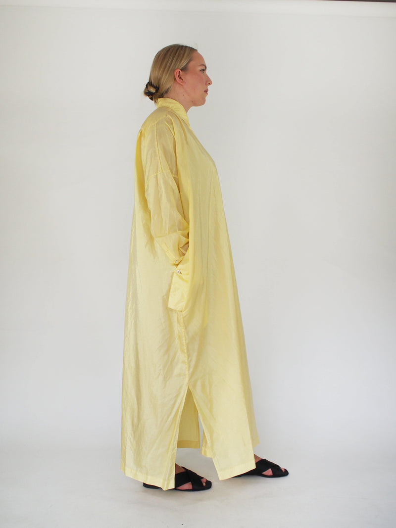 Parachute Packaway Dress - Yellow