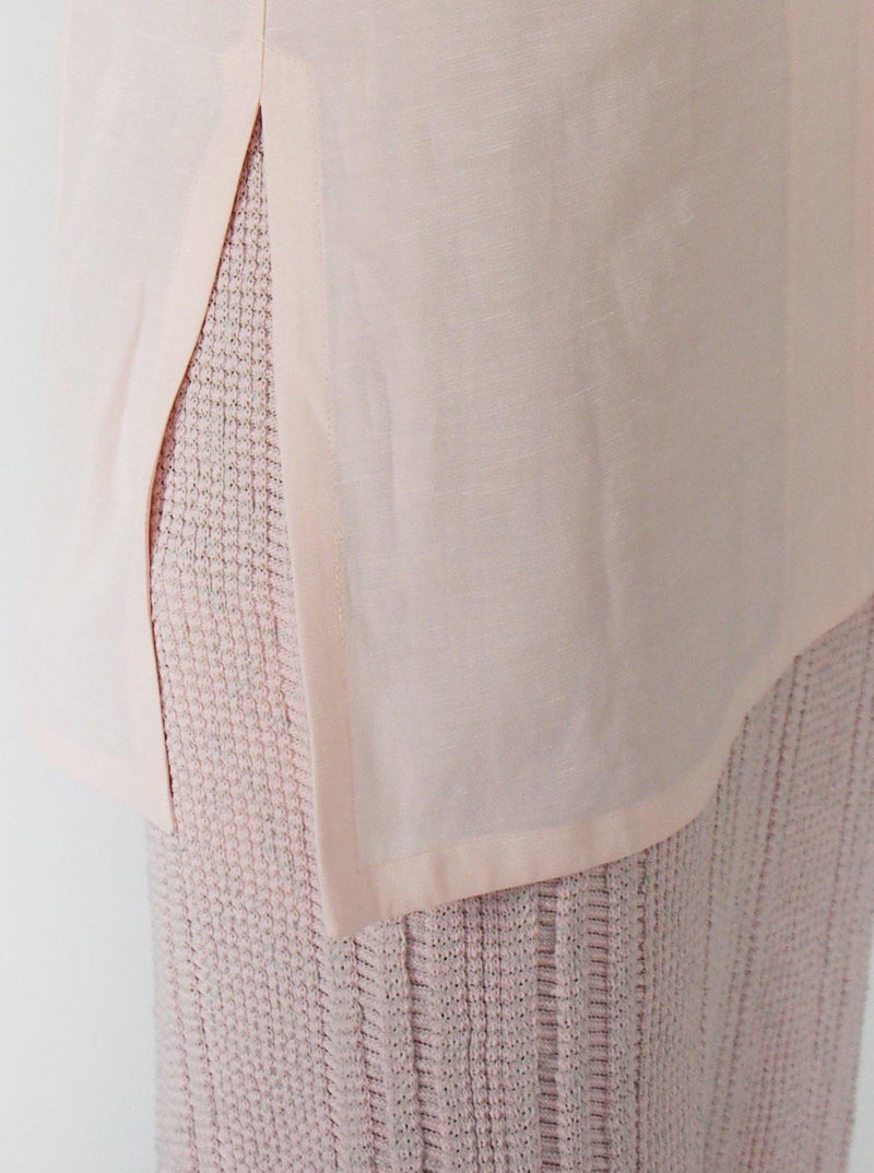 Knit Cotton Skirt - Pink