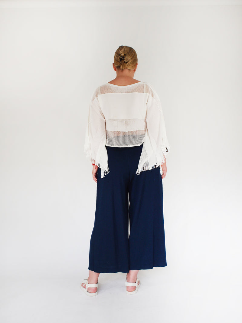 APOC Knit Culotte - Blue