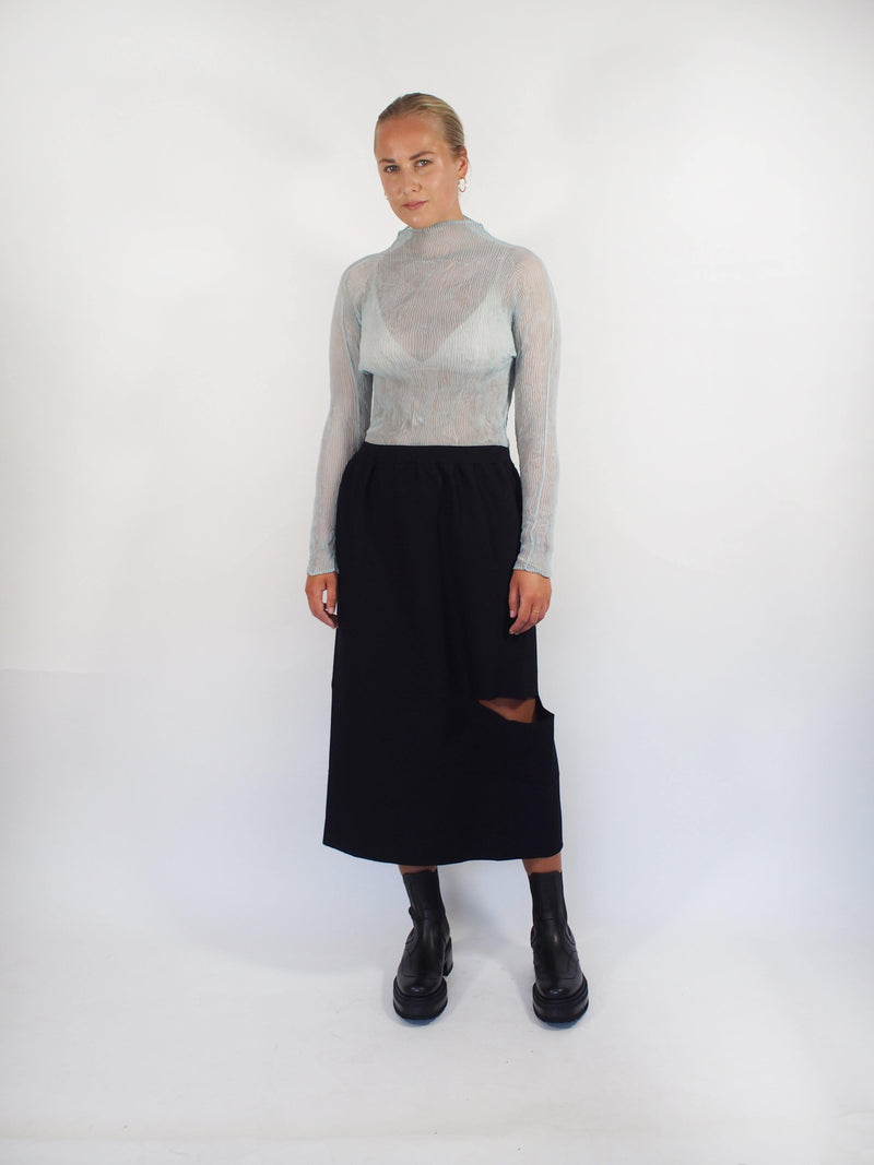 Slit Knit APOC Skirt