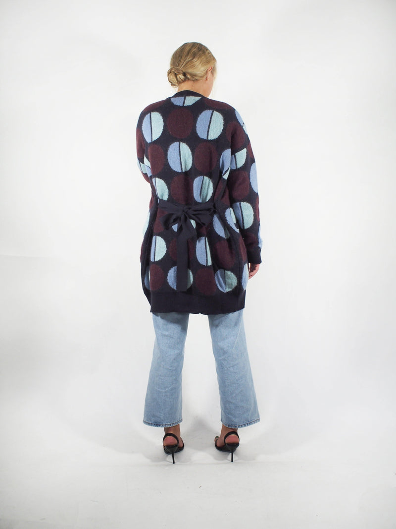 Sphere Bowling Cardigan