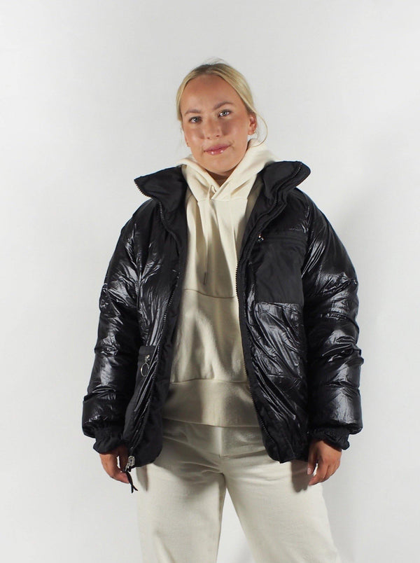 Tanaka - Relaxed Fit Down Jacket - Black - Coats - Boboli Vancouver Canada