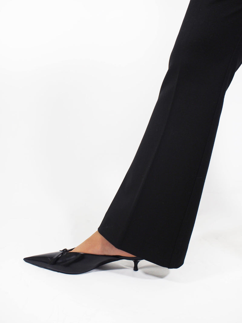 Long Boot Leg Pant - Black