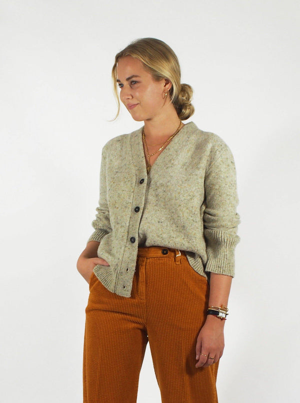 Brushed Wool Yak Cashmere - Oatmeal