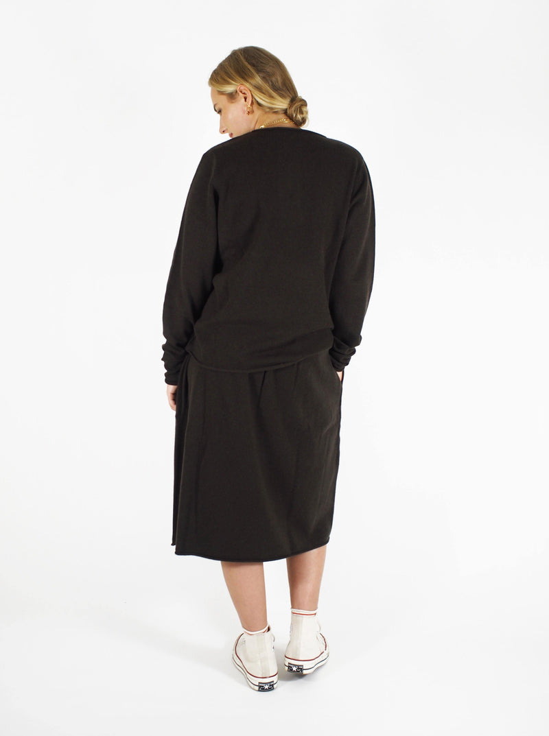 Extreme Cashmere - n°157 Be grateful - Brown - Sweaters - Boboli Vancouver Canada