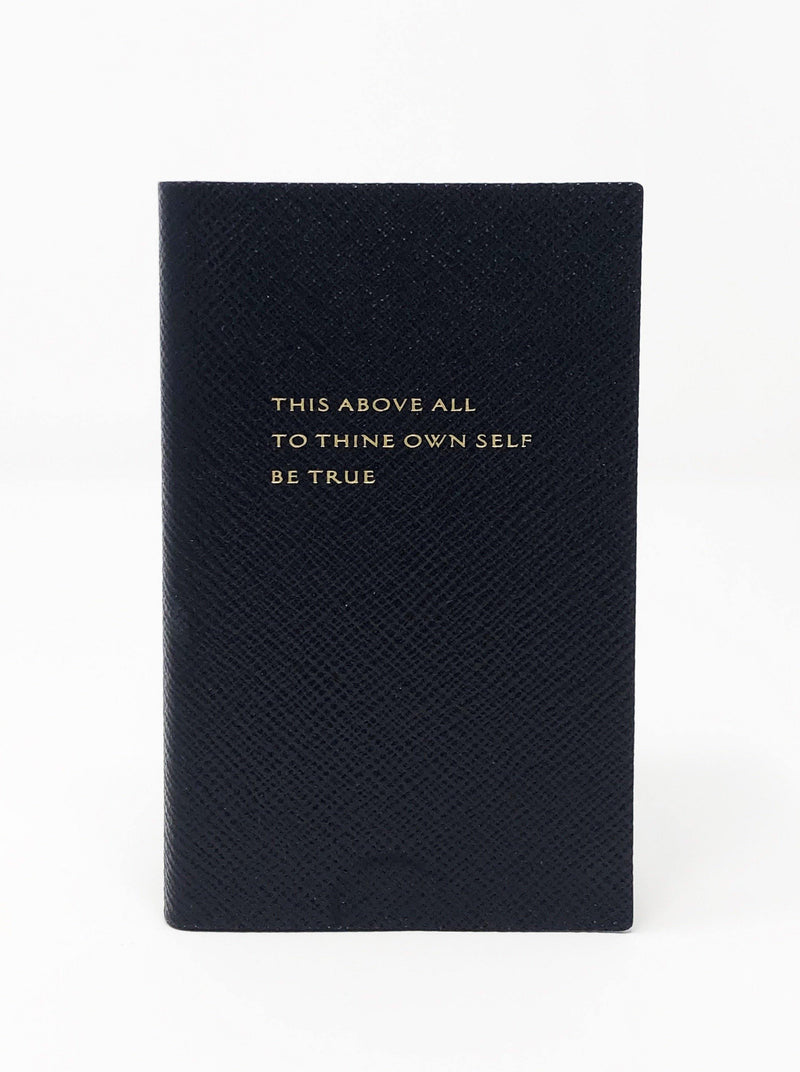 This Above All Notebook - Navy Blue