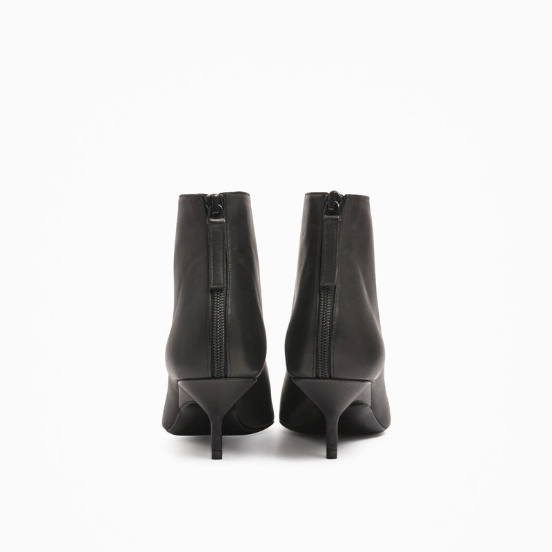 Pierre Hardy - Party Kitten Heel Ankle Boot - Black - Shoes - Boboli Vancouver Canada