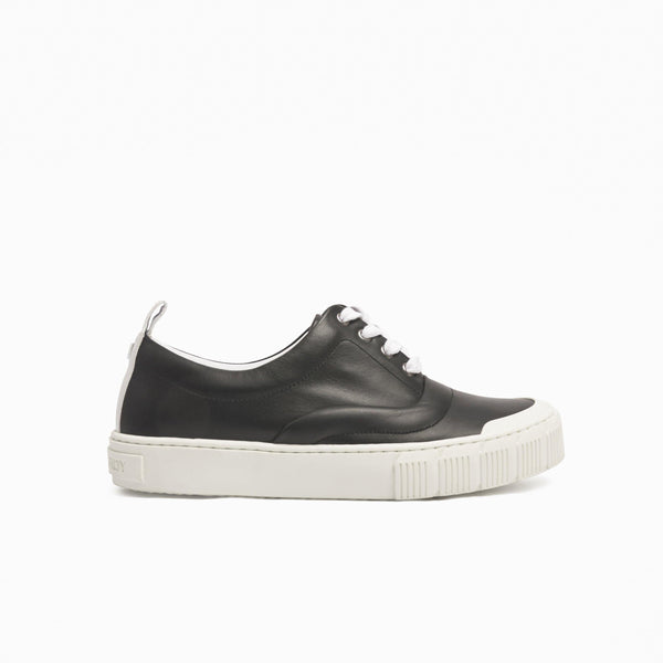 Pierre Hardy - Ollie Leather Sneakers - Black - Shoes - Boboli Vancouver Canada