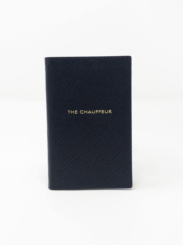 The Chauffeur Mini Notebook - Navy Blue