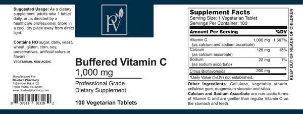 Buffered vitamin C 1000mg