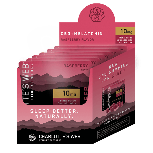 CW Gummy - Sleep (Raspberry) - 6ct PDQ