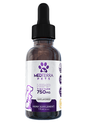 PET CBD tincture 750mg Unflavored