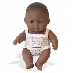 Baby Doll Boy - Hispanic 21cm