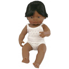 Baby Doll Boy - Hispanic 38cm
