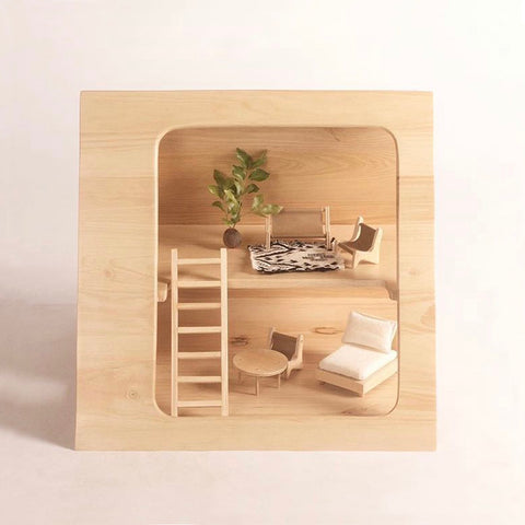 A-Frame Doll Furniture Set