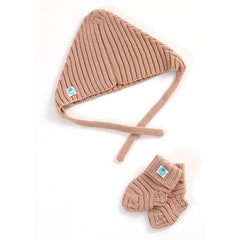 Archie Merino Wool Hat & Bootie Set