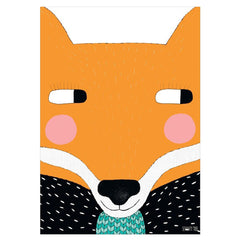 Unframed Print - Big Fox