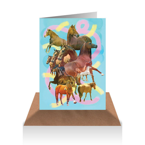 Horses Gift Card