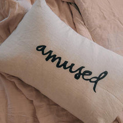 Pillow Slip - Amused