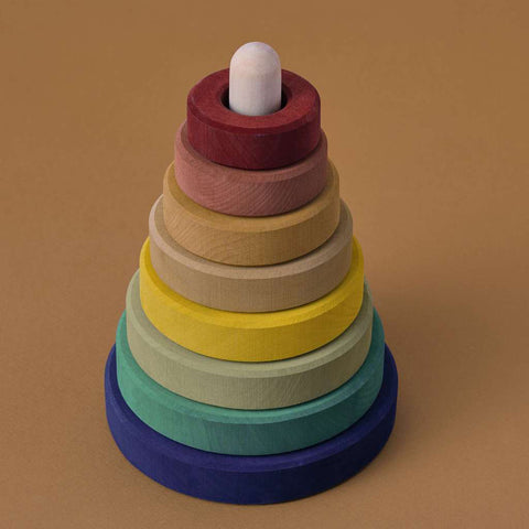 Wooden Earth Stacking Tower