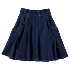 Cowgirl Denim Skirt