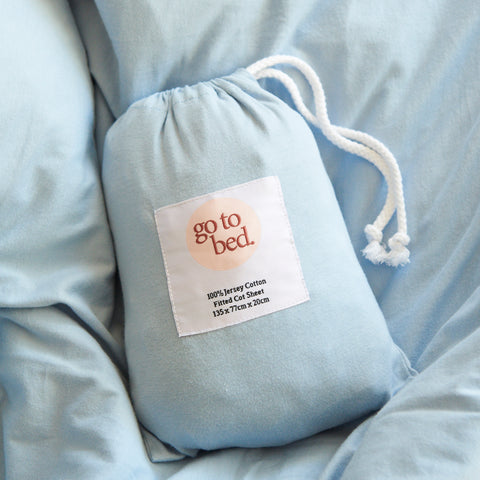 Jersey Cotton Fitted Sheet