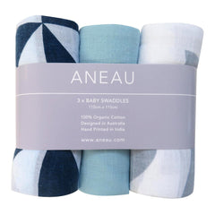 Baby Swaddle Set Of 3